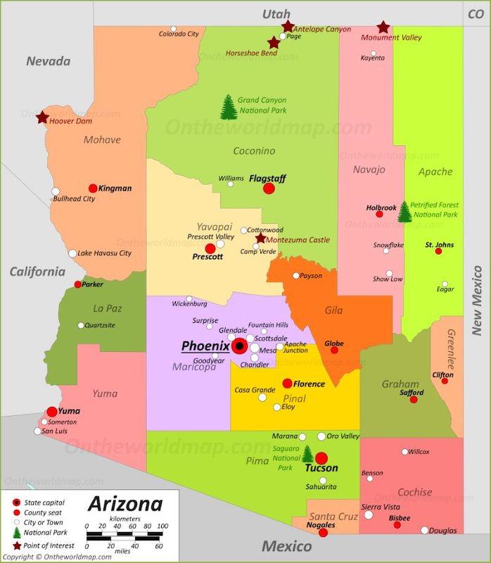 map-of-arizona-max