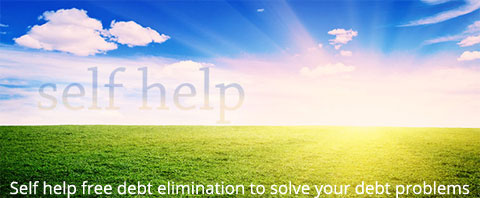 Self-help--free-debt-elimination-to-solve-your-debt-problems