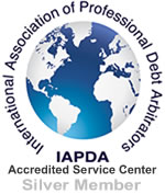 International Association of Professional Debt Arbitrators  Member Seal