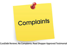 Complaits - CuraDebt Reviews No Complaints Read Shopper Approved Testimonials