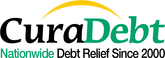 CuraDebt Logo-Financial Solution Since 2000