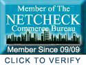 Member of the Netcheck Commerce Bureau Click To Verify