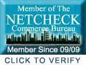Member of the Netcheck Commerce Bureau Click To Verify