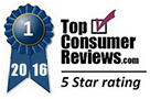 Top Consumer Reviews 5 Star Rating